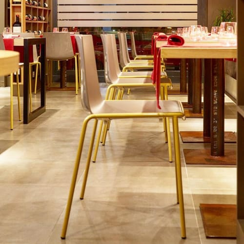 Chairs by Marc Sadler seen at Aroma Bistrot, Reggio Calabria - CUBA Chairs