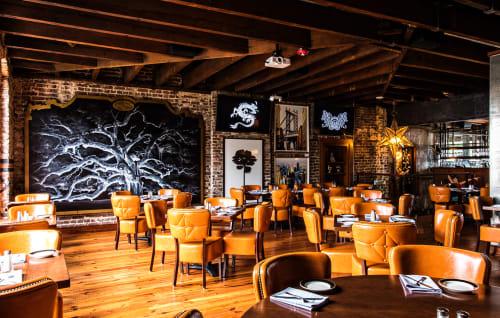 Ink N Ivy - Charleston, Restaurants, Interior Design