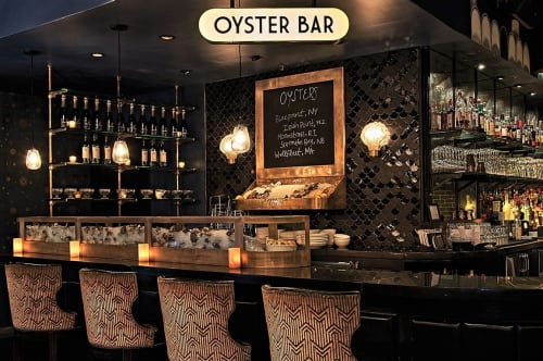 The Oyster Bar At The Roxy Hotel, Restaurants, Interior Design