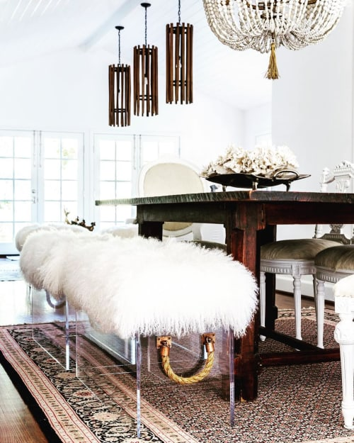 Pendants by vanCollier seen at Private Residence, Los Angeles - Blount Pendant