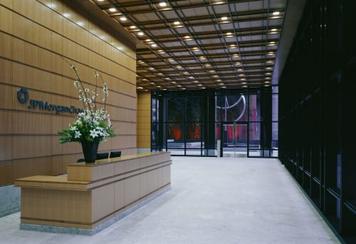 JPMorgan Chase Building, Offices, Interior Design