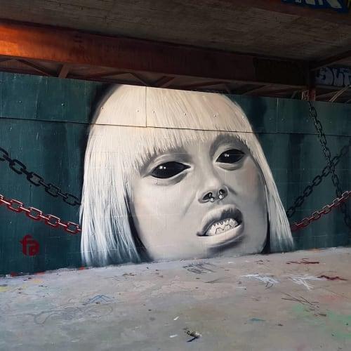 Aerosol Art   Murals by Fabifa   Teufelsberg in Berlin