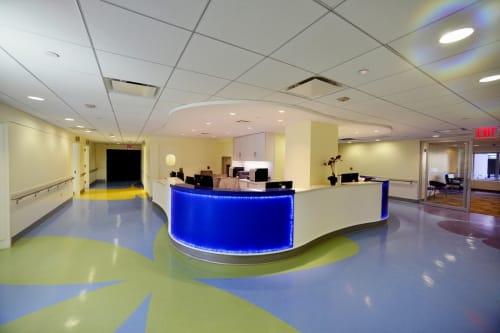 Hospital for Special Surgery, Public Service Centers, Interior Design