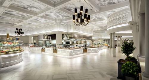 Borgata Hotel Casino & Spa, Hotels, Interior Design