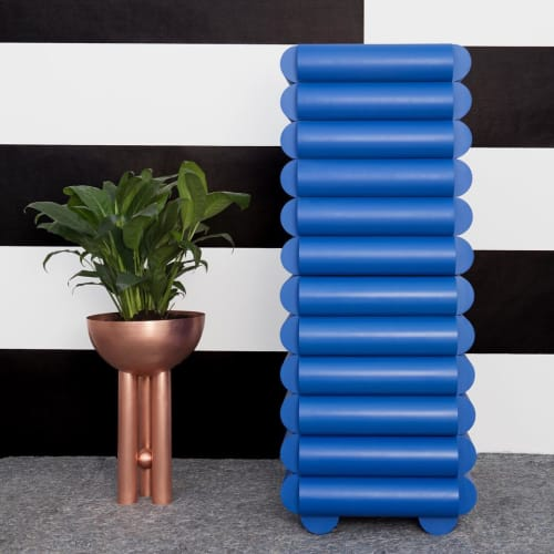 Furniture by Steven Bukowski seen at Openhouse, New York - Bubble Minibar with Footed Planter