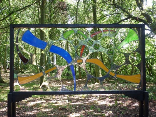 Public Sculptures by Patrick Elder seen at Raveningham - Sculpture