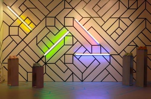 Wall Treatments by Edward Granger seen at Koio Nolita, New York - Design Wall