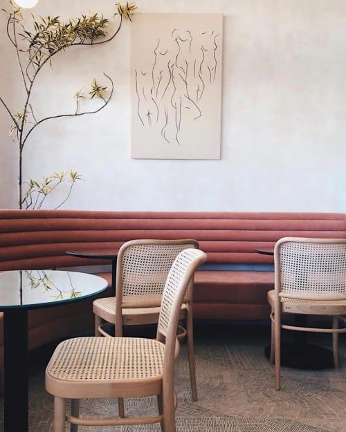 Paintings by Carla Cascales Alimbau seen at Jeune et Jolie, Carlsbad - Iris