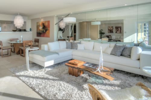 Custom Ella Sofa Sectional by Designlush seen at Miami Beach ...