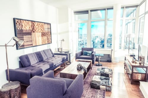 Interior Design by Marie Burgos Design at Industrial Antiquarian Residence, Brooklyn - Interior Design