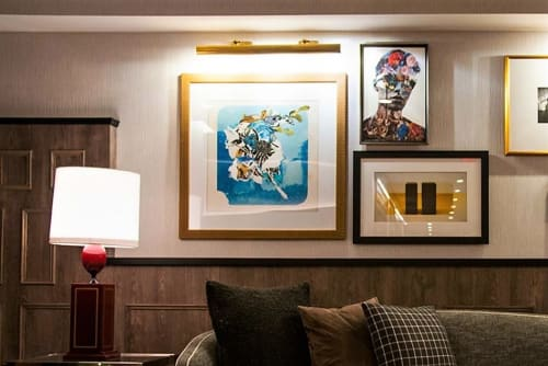 Art & Wall Decor by Geoff Kim seen at Kimpton Mason & Rook Hotel, Washington - Incredulous Me