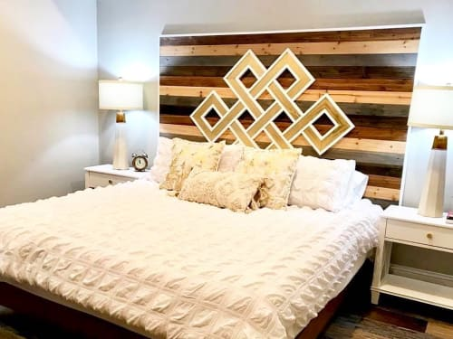 Furniture by Sweet Home Wiscago seen at Private Residence, Chicago - Custom Headboard