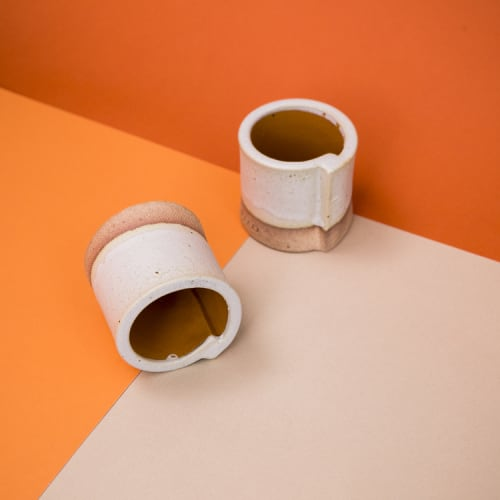 Cups by fefostudio seen at O Cafe, New York - Espresso Cup
