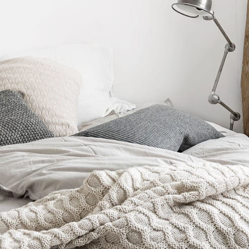 Linens & Bedding by Aiayu seen at Private Residence, Copenhagen, Denmark, Copenhagen - Husky Throw
