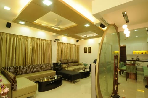 Interior Design by Jovan Designs seen at Kalpataru Towers, Mumbai - Interior Design
