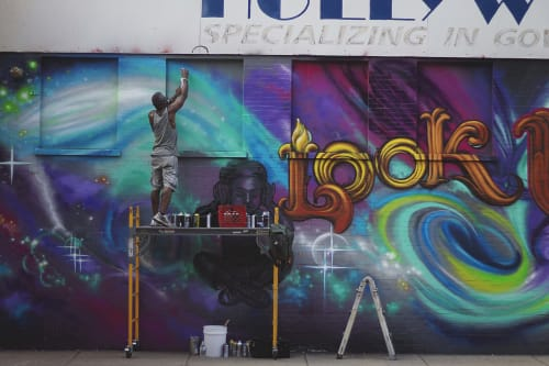 Tyrue Slang Jones - Murals and Art