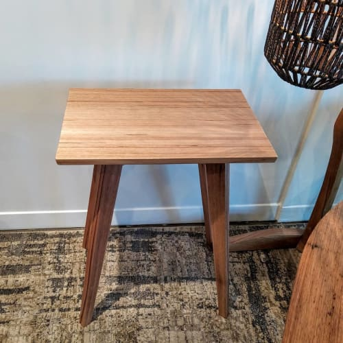 Tables by OZTABLES seen at Private Residence, Moorabbin - Bedside Table