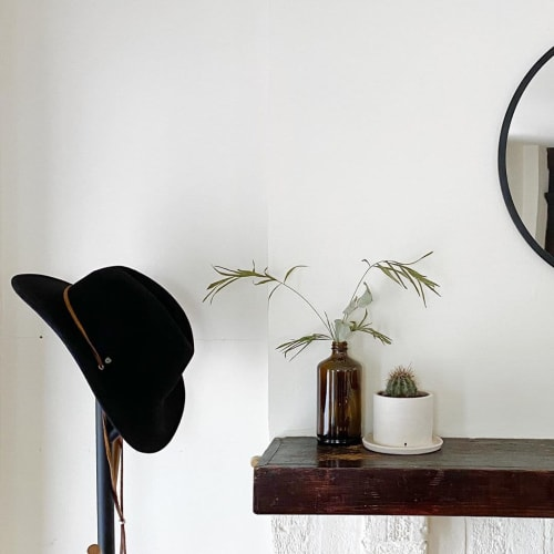Vases & Vessels by Stone + Sparrow seen at Private Residence, Pittsburgh - Totem Planter