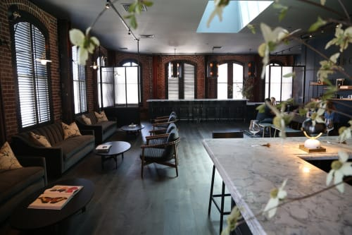 Brown Downtown Napa, Restaurants, Interior Design