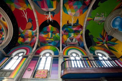 Okuda San Miguel - Street Murals and Public Art