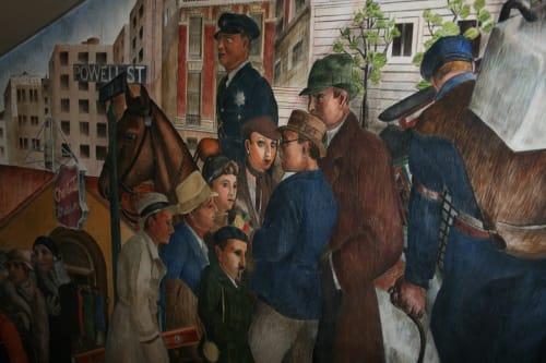Lucien Labaudt - Murals and Art