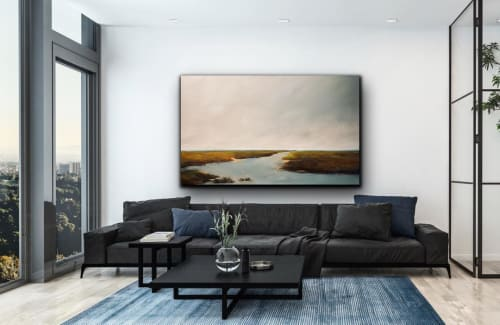 Paintings by Victoria Jackson seen at Private Residence, Atlanta - Journey Ahead