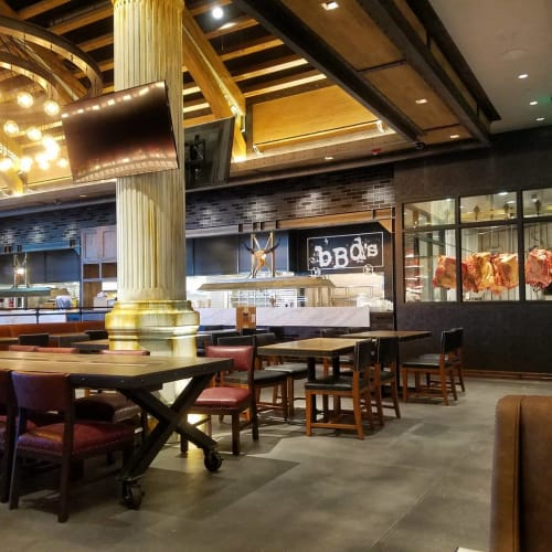 Interior Design by Hatch Design Group seen at bBd's Las Vegas - Beers Burgers Desserts, Las Vegas - Interior Design