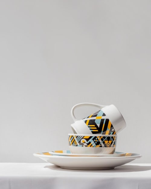 Dinnerware Design | Cups by Teddy Kelly | Anfora Studio in Mexico City