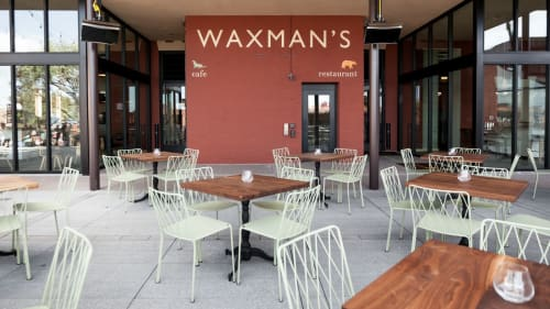 Chairs by Fermob USA seen at Waxman's, San Francisco - Kintbury Chairs