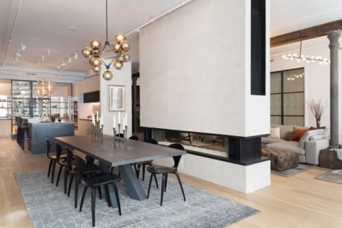 Interior Design by Melanie Williams Bespoke Interiors seen at The Tribeca Loft, New York - Interior Design