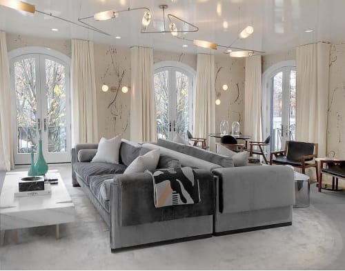 Chandeliers by Avram Rusu Studio seen at Private Residence, Brooklyn - Continuum Ceiling Mount