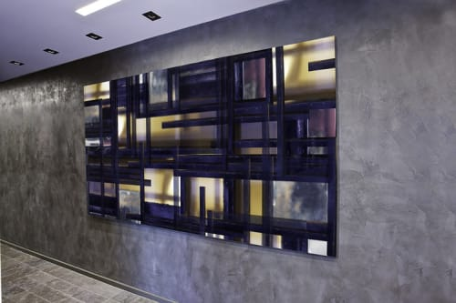 Paintings by Nicole Landau seen at EAST, Miami, Miami - Custom Abstract Artwork