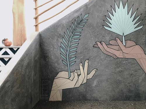 Murals by Allison Kunath at The Nomadic, Nosara - The Nomadic Nosara Mural