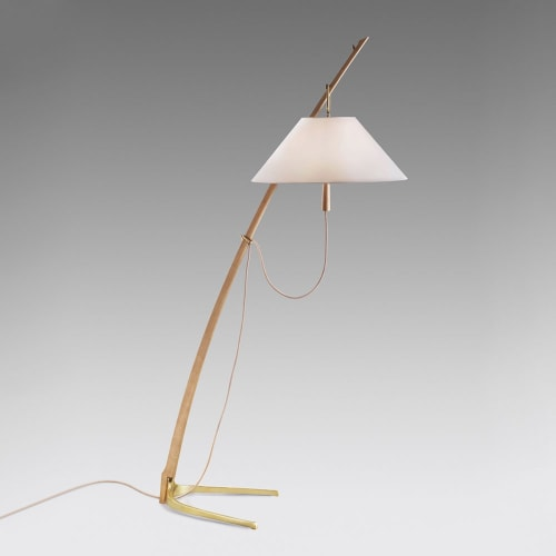 Lighting by J.T. Kalmar seen at 11 Howard, New York - Dornstab 18 Floor Lamp