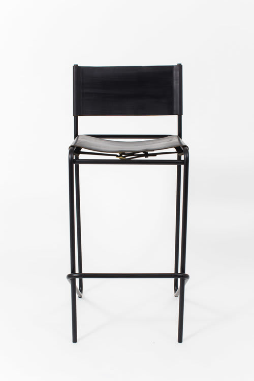 Chairs by Steven Bukowski at Independent Lodging Congress, in the William Vale NYC, Brooklyn - Flora Bar Stool