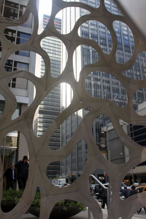 Public Sculptures by Haresh Lalvani at West 54th Street, New York - SEED54