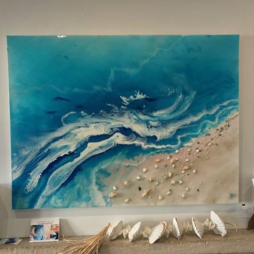 Paintings by ANTUANELLE - Ocean Inspired Resin Artwork