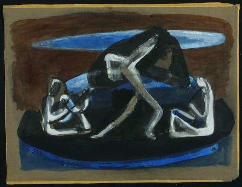George Albert Harris - Murals and Art
