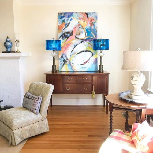 Paintings by Marquin Designs seen at Private Residence, Greenville - Abstract Painting