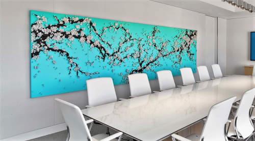 Art & Wall Decor by Ran Hwang seen at Pritzker Group L.A., Los Angeles - Blossoms