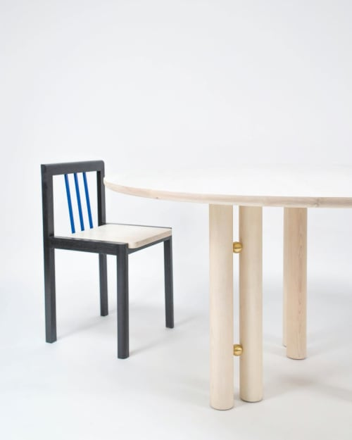 Tables by Steven Bukowski seen at Steven Bukowski Studio, Brooklyn - Martini Dining Table