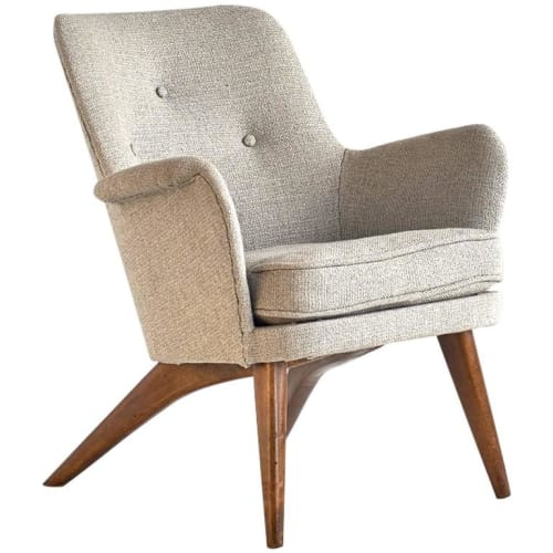 Chairs by Carl Gustaf Hiort af Ornäs seen at Viviane, Beverly Hills - Hiort af Ornäs Lounge Chair