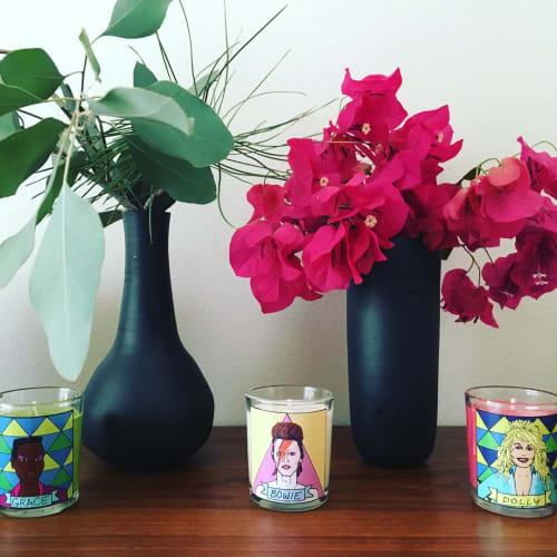Tableware by Echo Ceramics seen at Bar & Garden, Culver City - Vases