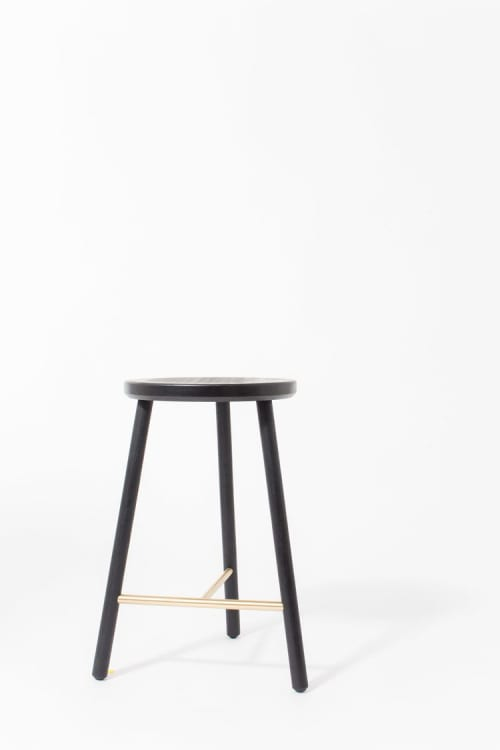Chairs by Steven Bukowski seen at Private Residence, Brooklyn - Scout Stool