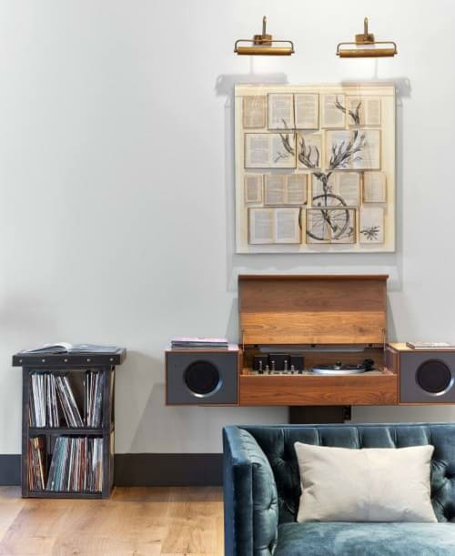 Appliances by Symbol Audio seen at Kimpton Hotel Van Zandt, Austin - Modern Record Console