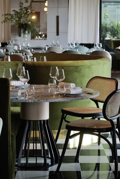 Tables by La Chance seen at La Forêt Noire, Chaponost - Mewoma Table