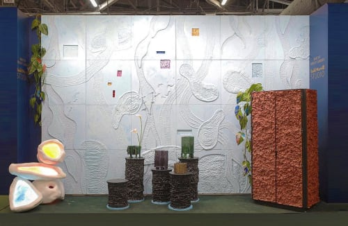Murals by Birnam Wood Studio seen at Piers 92/94, New York - Occlusion Wall Mural