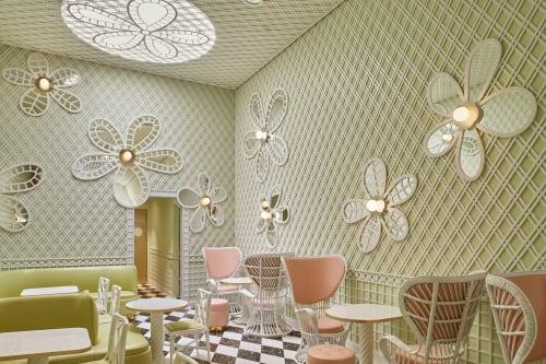 Ladurée Beverly Hills, Restaurants, Interior Design