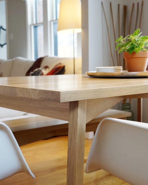 Tables by Oliver Apt seen at Private Residence, Edmonton, Canada, Edmonton - Dining Table