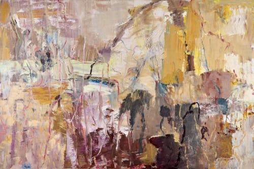 Paintings by Dana Dion seen at Creator's Studio, Sydney - Sunlight